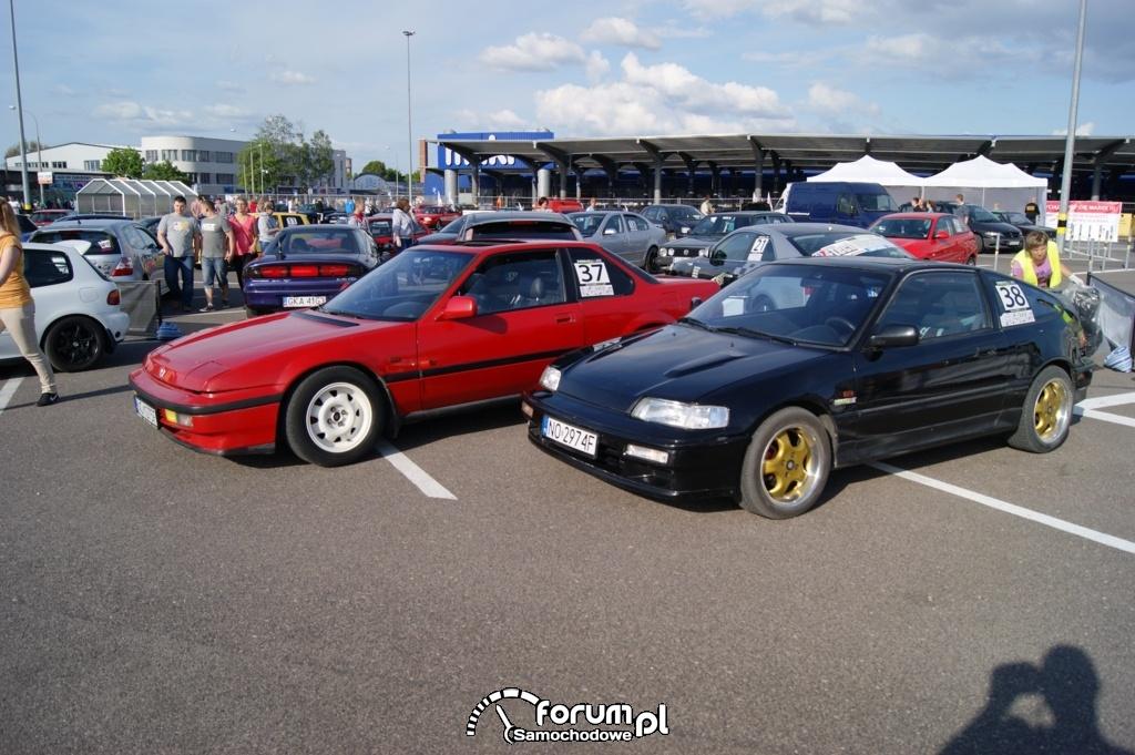 Honda - park maszyn