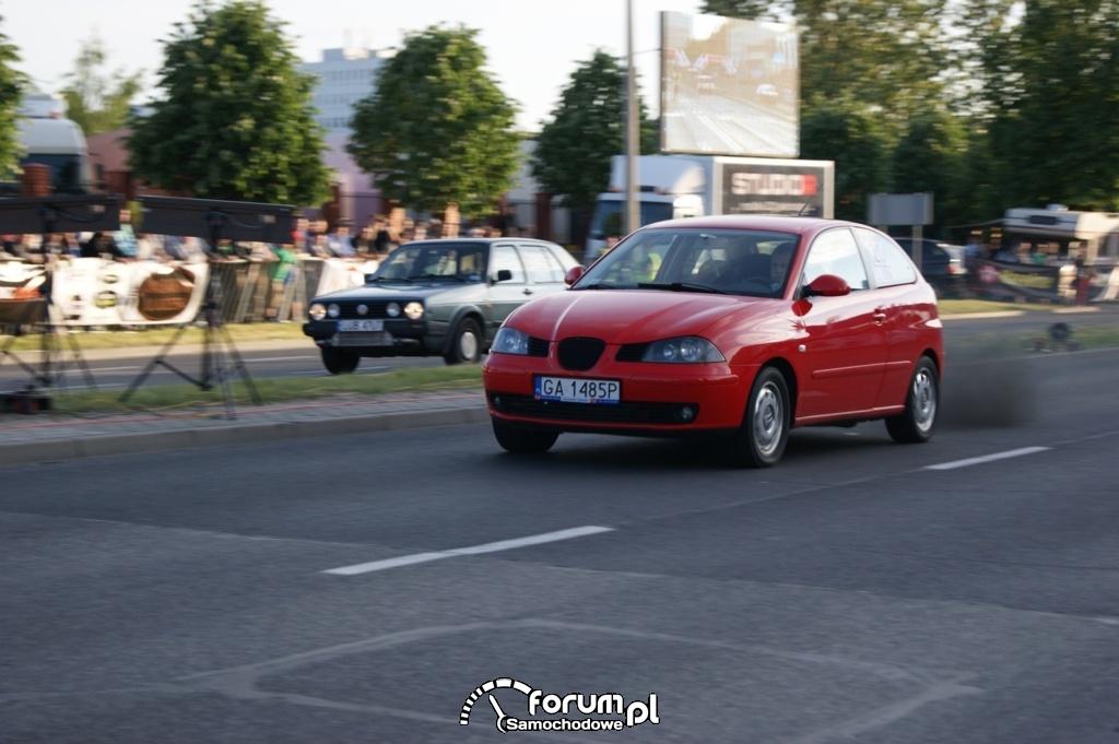 Seat Ibiza vs VW Golf II