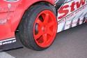 Wysunięte koło - Samochód do driftu