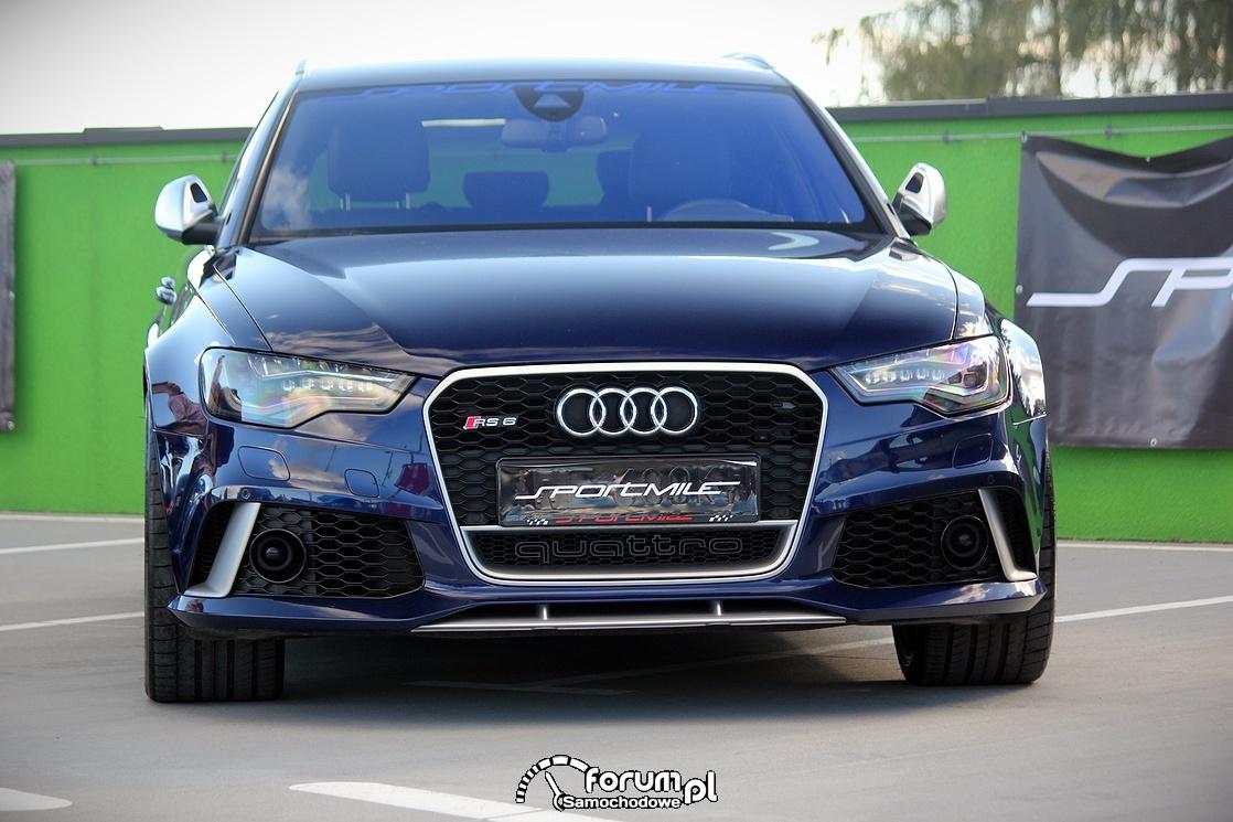 Audi RS6, przód