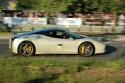 Ferrari 458 Italia, bok, żółte zaciski hamulcowe