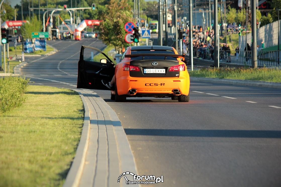 Lexus IS-F CCS-R, tył