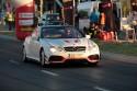 Mercedes CL 5.5 benzyna 500 KM, podczas startu