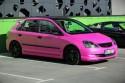 Różowa Honda Civic VII