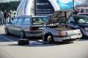 VW Passat B3 z przyczepką na grila
