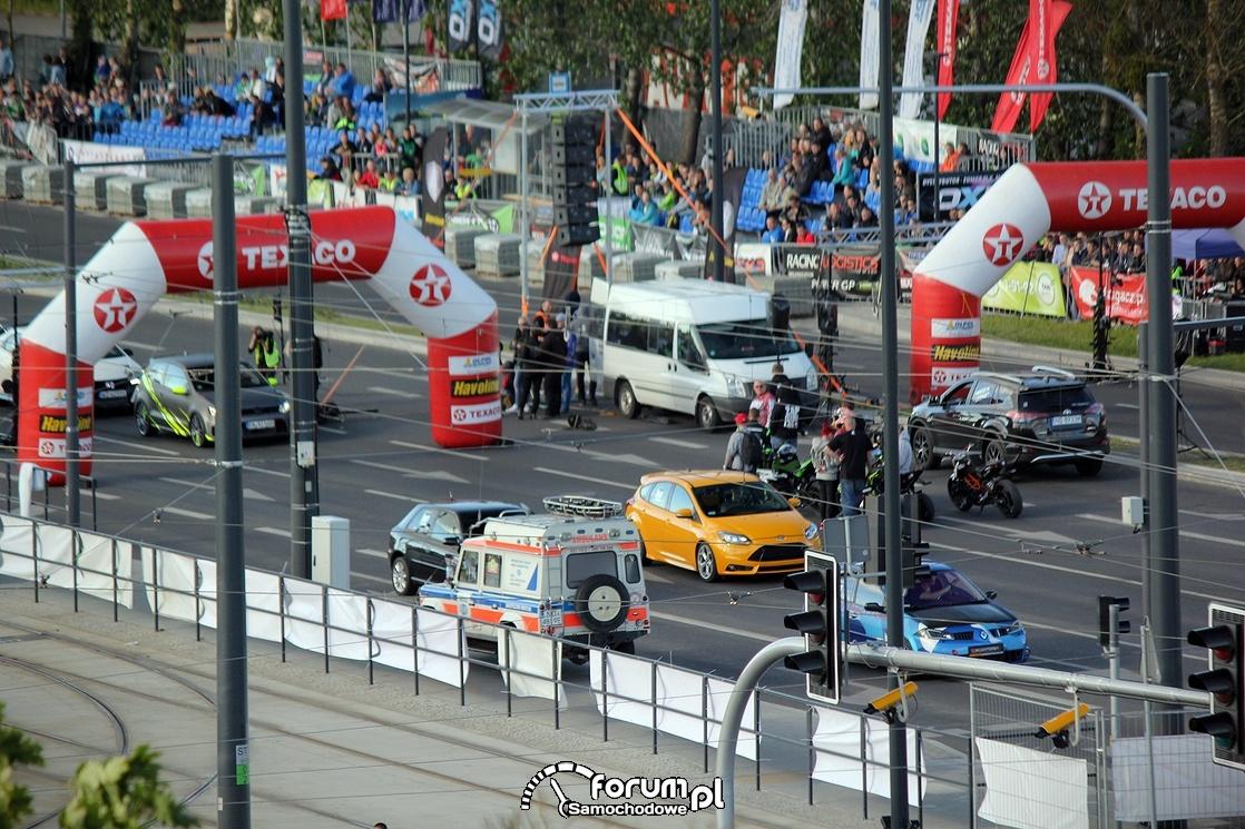 Wyścigi na ulicy Sikorskiego w Olsztynie, 2
