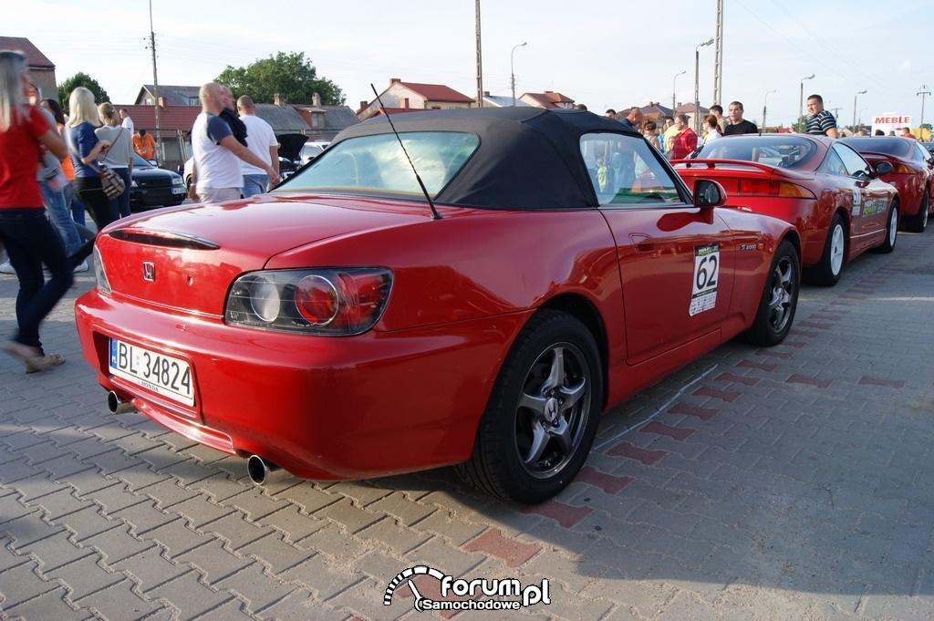 Honda S2000, tył