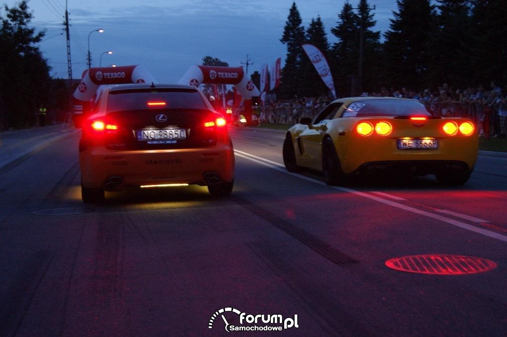 Lexus IS-F vs Chevrolet Corvette C6
