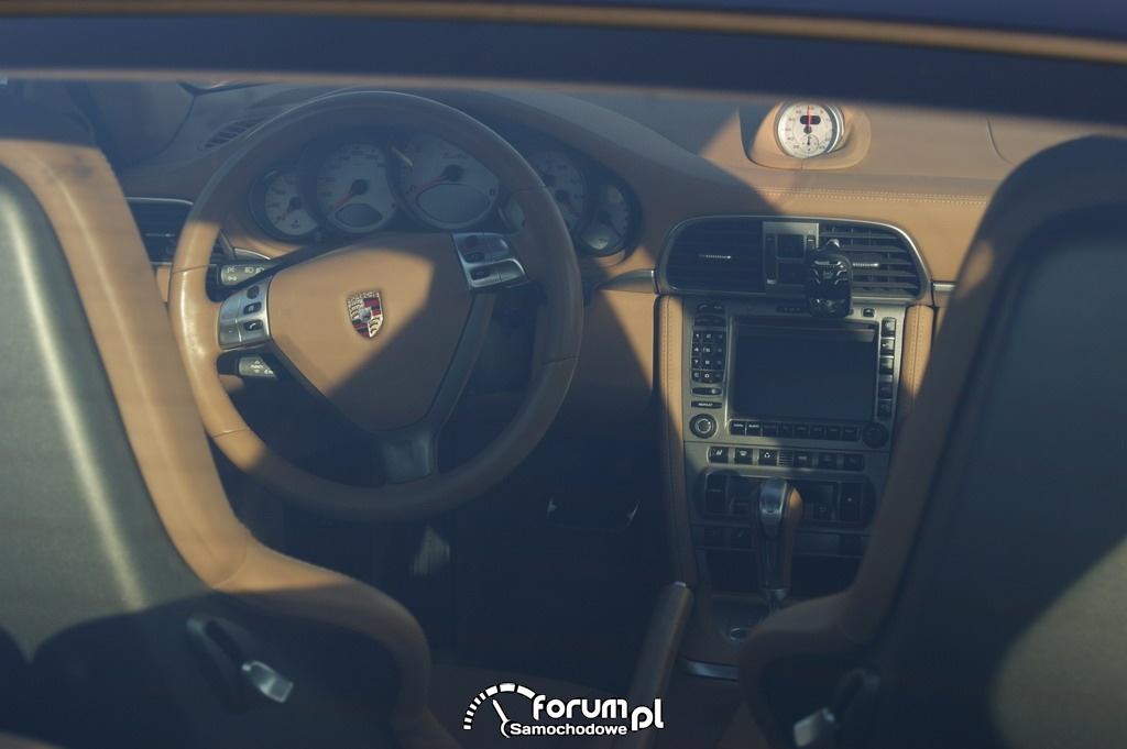 Porsche Carrera 911 Turbo, wnętrze