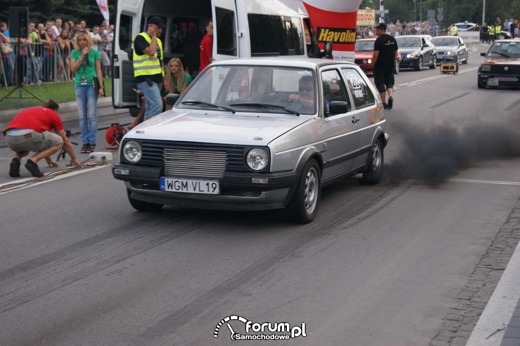 VW Golf II Diesel Syncro, ok. 300KM, 2