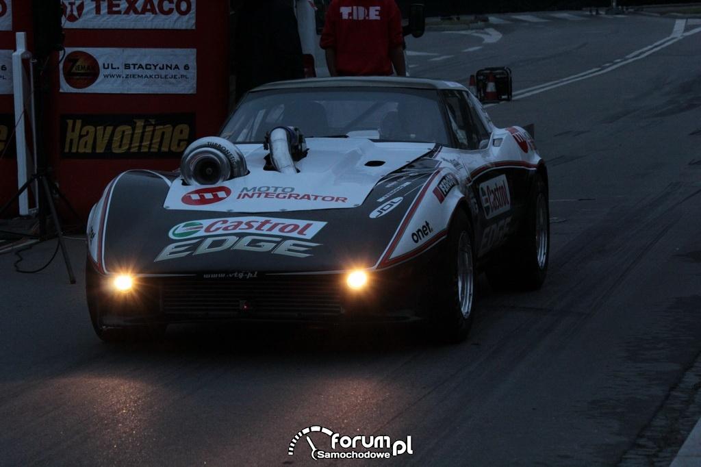 Chevrolet Corvette 4x4, VTG Team, start