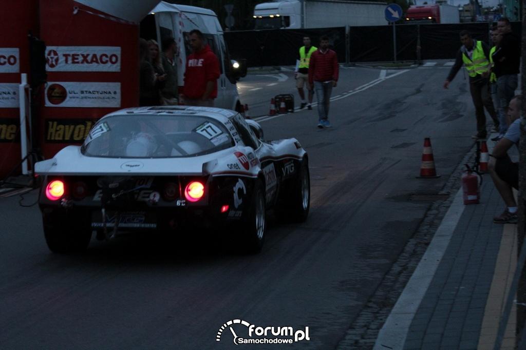 Chevrolet Corvette 4x4, VTG Team, tył