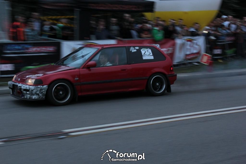Honda Civic IV, nr startowy 25