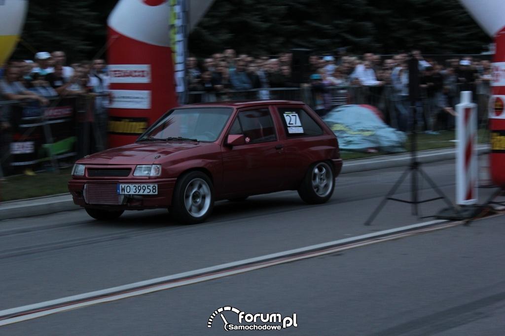 Opel Corsa I, nr startowy 27
