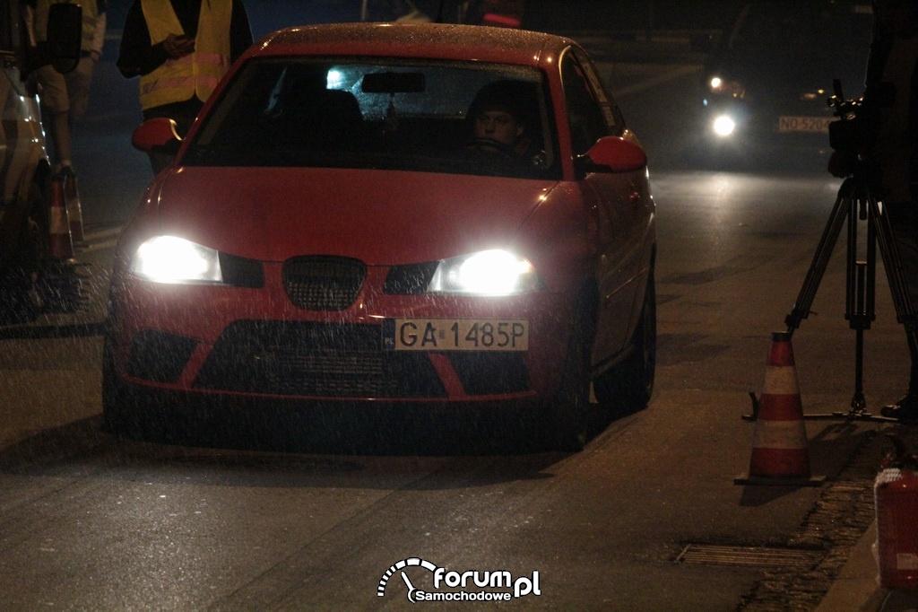 Seat Ibiza, diesel, oczekiwanie na start