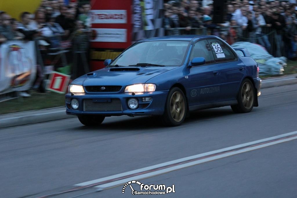 Subaru Impreza, nr startowy 36, 2