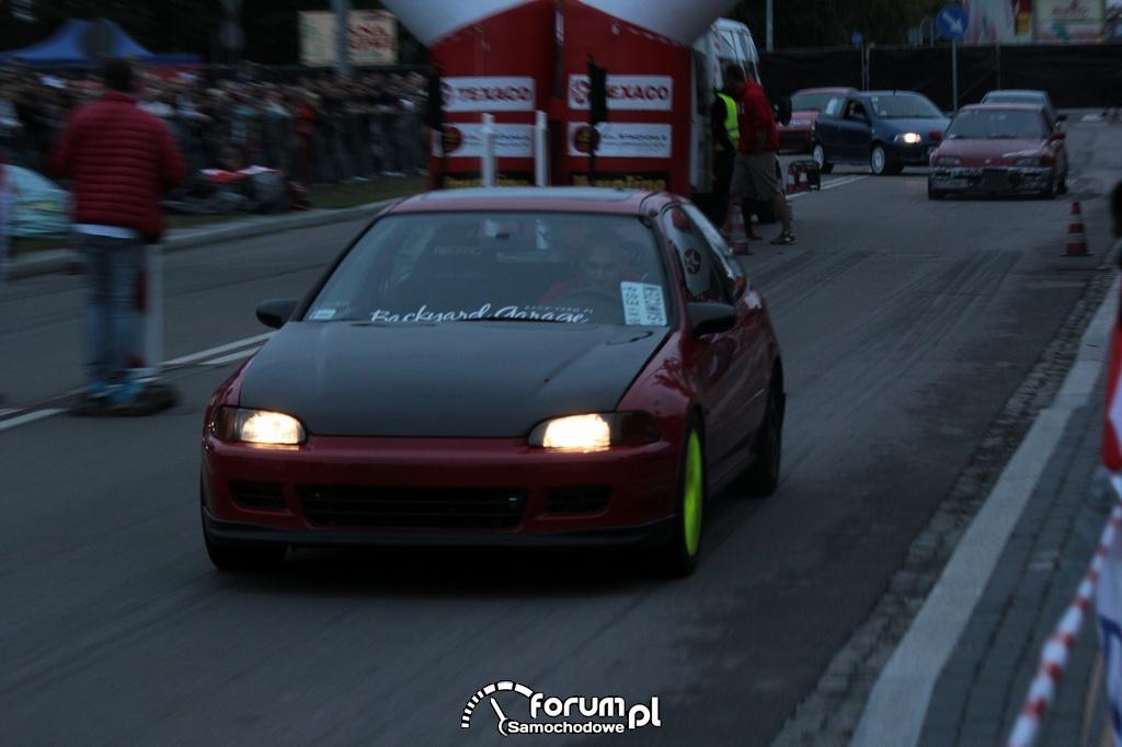 Szybki sprint, Honda Civic V