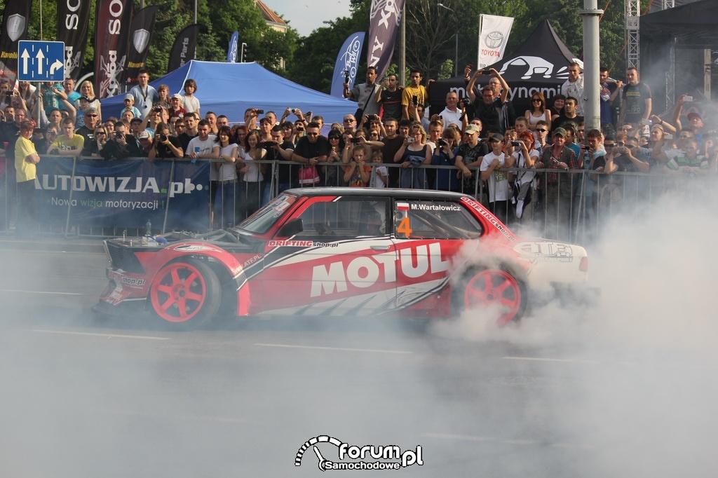 BMW E21 - Rekin, driftowóz z Polski