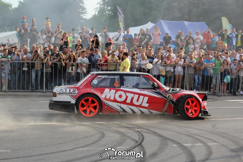 BMW E21 - Rekin, Samochód Marka Wartałowicza, drift