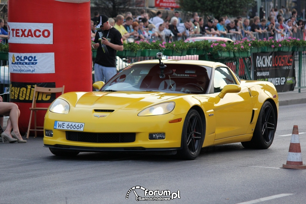 Corvette Z06 - 600 KM, 800 NM