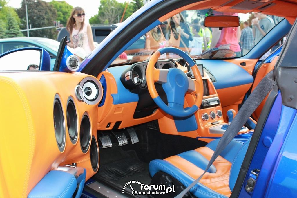 Demo Car, Peiying, wnętrze, Car Audio