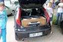 Fiat Punto, skrzynia basowa w bagażniku