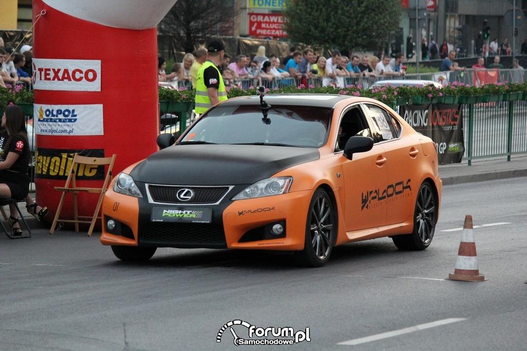 Lexus IS-F - 400+ KM, 500+ NM przed startem