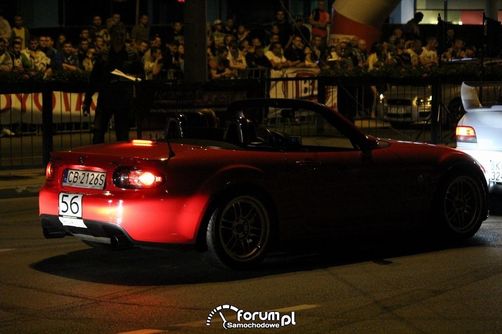 Mazda MX-5 - 390 KM, 500 NM, wyścigi