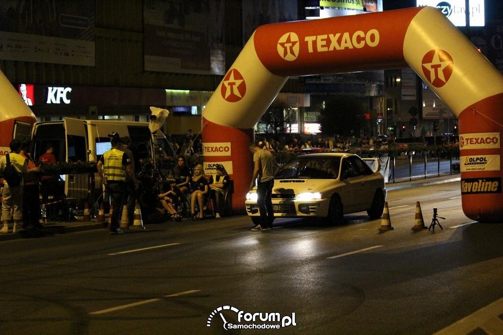 Subaru Impreza, 1-8 mili, start