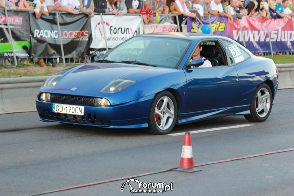 Fiat Coupe, niebieski