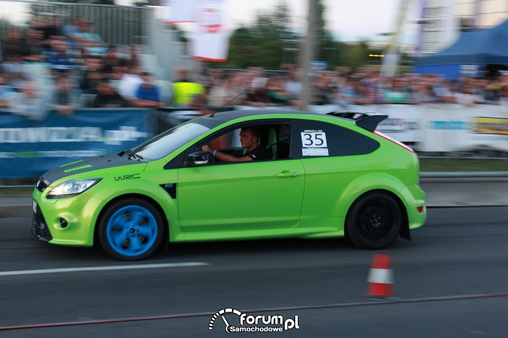 Ford Focus II RS, zielony
