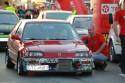 Honda Civic IV, przed startem w wyścigach równoległych