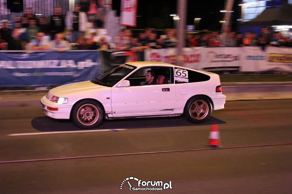 Honda CRX, nr startowy 65