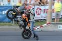 Jazda na jednym kole, najmłodszy kaskader motocylkowy w Polsce, Piotruś