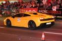 Lamborghini Gallardo w nocy, tył