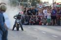Palenie gumy motorem przez 11latka Piotrusia