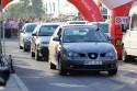 Seat Ibiza przed startem na 1-8 mili