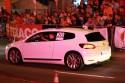 Volkswagen Scirocco w nocy, biały