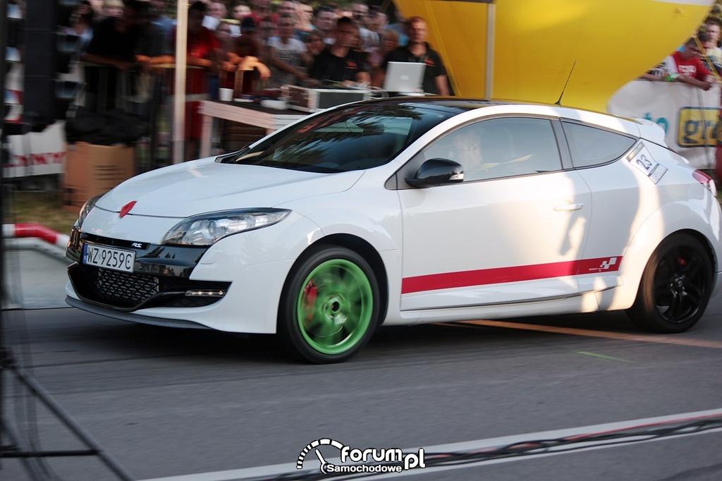 Renault Megane RS, szybki start
