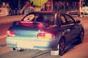 Subaru Impreza SRT, tył