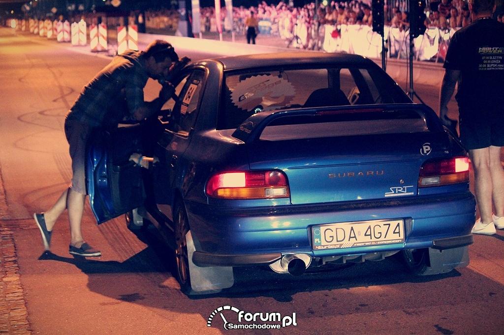 Subaru Impreza SRT, wywiad z kierowcą przed startem