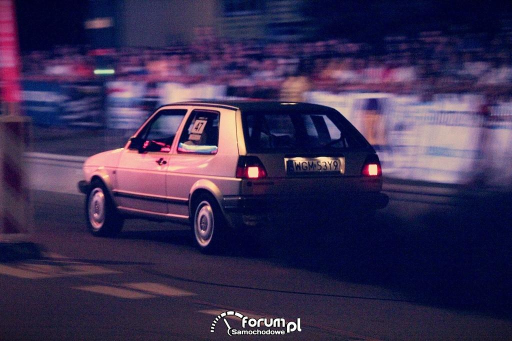 VW Golf II, wyścigi równoległe