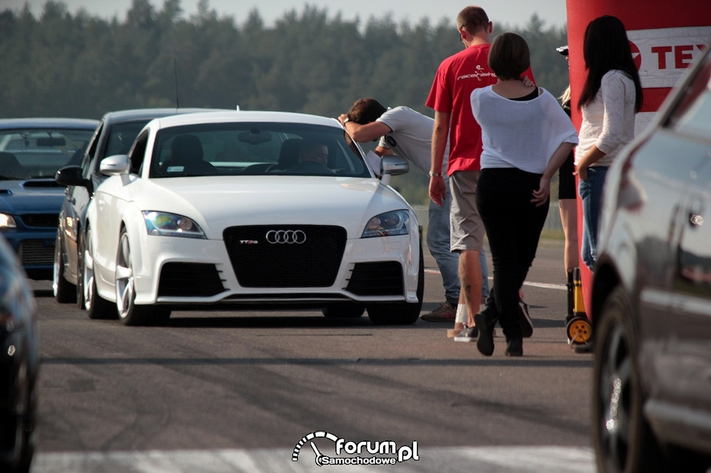 Audi TT RS, wyścigi równoległe