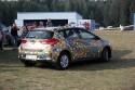 Toyota Auris, samochód oklejony przez dzieci