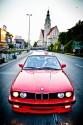 BMW E30 - 343 KM, 365 NM, przód