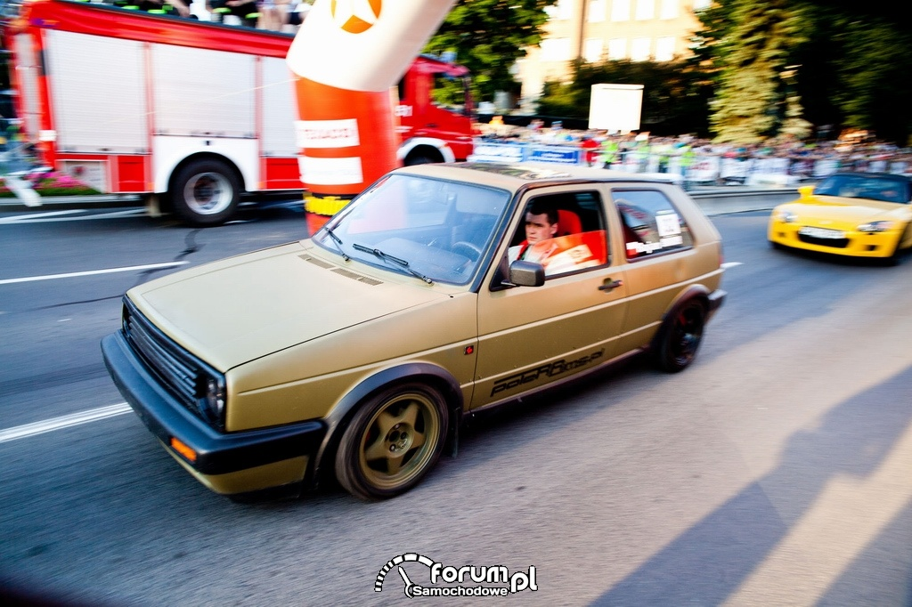 VW Golf II, 3