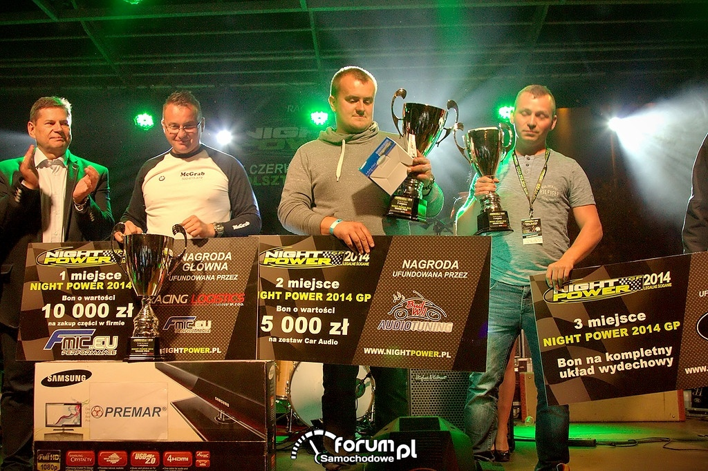 Finaliści Night Power GP 2014