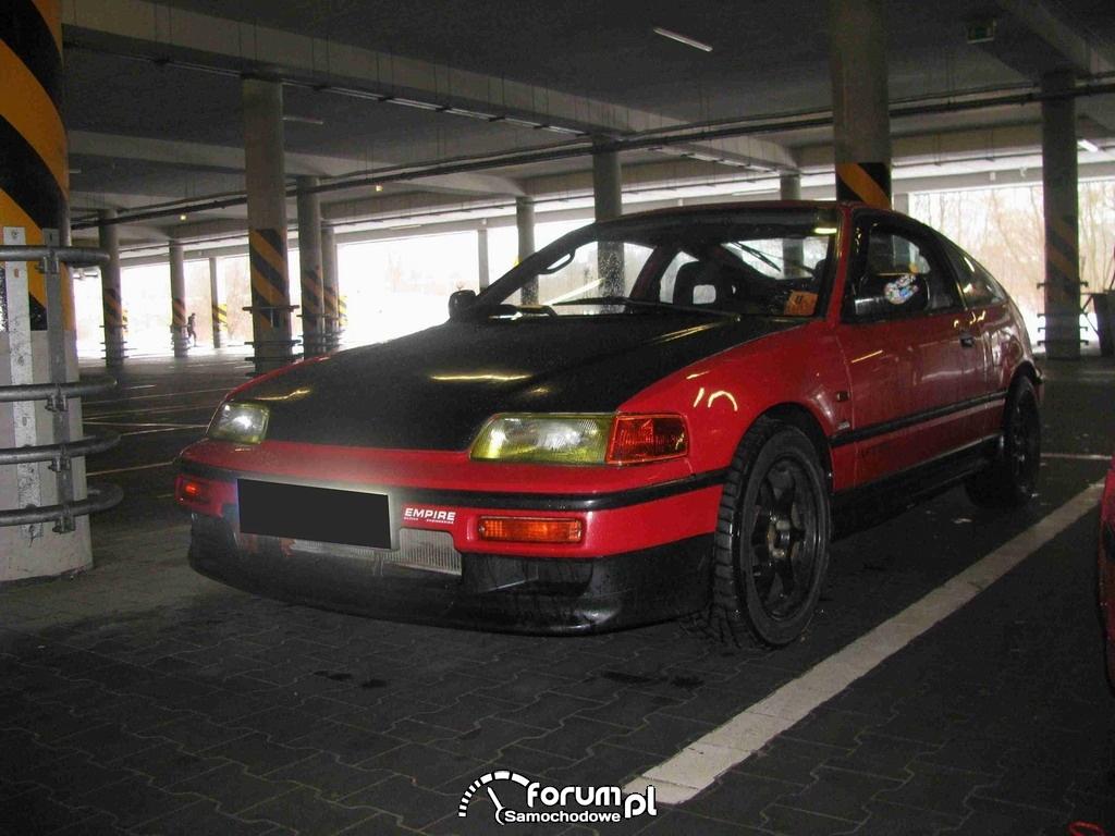 Honda CRX - 170 KM, 160 NM