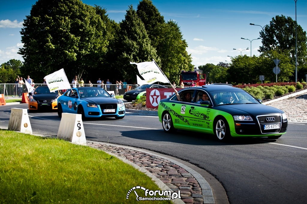 NIGHT POWER 2013 GP, samochody