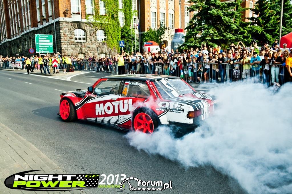 Night Power GP, Drift, BMW Rekin, 1 czerwca w Olsztynie